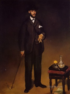Theodore Duret Eduard Manet Oil Paintings