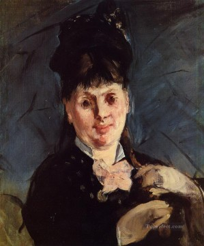 Woman with umbrella Eduard Manet Oil Paintings