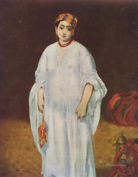 Young Woman in Oriental Garb Eduard Manet Oil Paintings