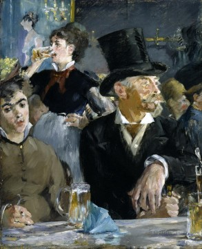 The Bock Drinkers Eduard Manet Oil Paintings