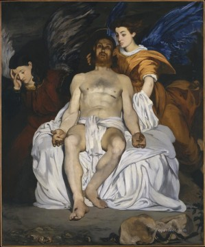 Angels Works - The Dead Christ with Angels Eduard Manet