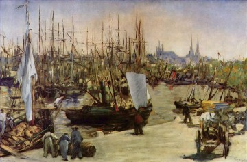 The Port of Bordeaux Eduard Manet Oil Paintings