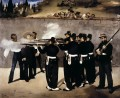 The Execution of the Emperor Maximilian of Mexico Eduard Manet