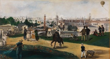 The Exposition Universelle Eduard Manet Oil Paintings