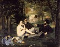 The Luncheon on the Grass Eduard Manet