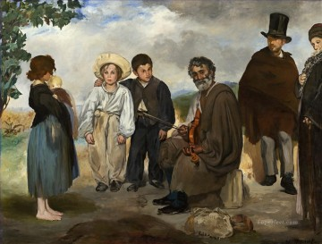 The old musician Eduard Manet Oil Paintings