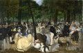 Music in the Tuileries Gard Eduard Manet