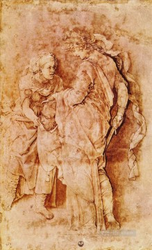 Andrea Canvas - Judith with the head of Holofernes Renaissance painter Andrea Mantegna