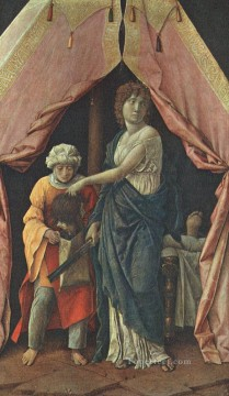 Andrea Canvas - Judith and Holofernes Renaissance painter Andrea Mantegna