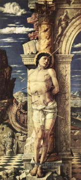 St Sebastian1 Renaissance painter Andrea Mantegna Oil Paintings