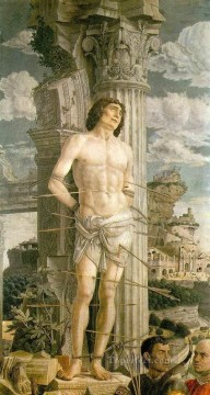 St Sebastian2 Renaissance painter Andrea Mantegna Oil Paintings