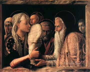 Presentation at the Temple Renaissance painter Andrea Mantegna Oil Paintings