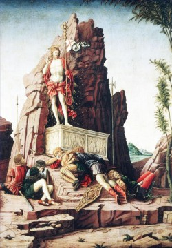 Andrea Canvas - The Resurrection Renaissance painter Andrea Mantegna