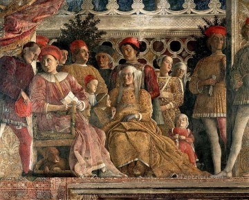 renaissance Painting - The Court of Mantua Renaissance painter Andrea Mantegna