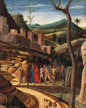 renaissance Painting - The agony in the garden dt1 Renaissance painter Andrea Mantegna