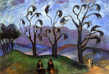 Artworks by 350 Famous Artists Painting - park Marianne von Werefkin