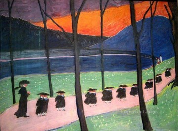 Artworks by 350 Famous Artists Painting - students Marianne von Werefkin