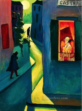 Artworks by 350 Famous Artists Painting - city Marianne von Werefkin