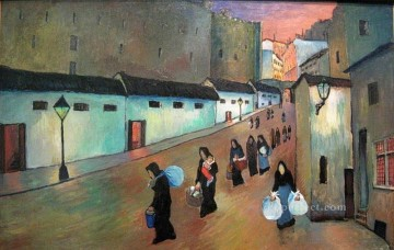 Artworks by 350 Famous Artists Painting - moving Marianne von Werefkin