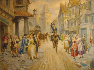 Mariano Alonso Perez Spain Bourbon Dynasty Mariano Alonso Perez Oil Paintings