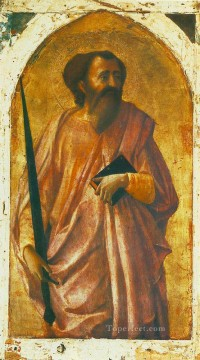 St Paul Christian Quattrocento Renaissance Masaccio Oil Paintings