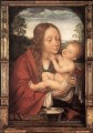 Virgin and Child in a Landscape Quentin Matsys