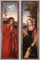 John the Baptist and St Agnes Quentin Matsys