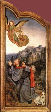left Canvas - St Anne Altarpiece left wing Quentin Matsys