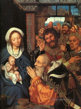 Adoration Art - Adoration of the Magi Quentin Matsys