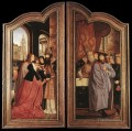 St Anne Altarpiece closed Quentin Matsys