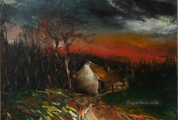 Artworks by 350 Famous Artists Painting - Autumn landscape Maurice de Vlaminck