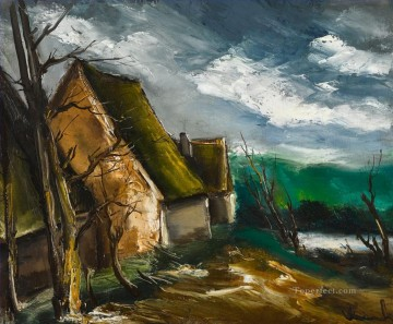 Artworks by 350 Famous Artists Painting - HIGH MADNESS Maurice de Vlaminck