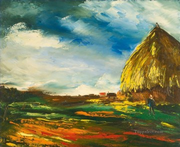 Artworks by 350 Famous Artists Painting - HOUSES AND GRINDING Maurice de Vlaminck