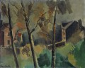 Houses and trees Maurice de Vlaminck