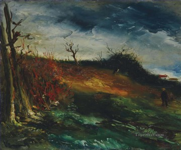 Artworks by 350 Famous Artists Painting - Landscape 3 Maurice de Vlaminck