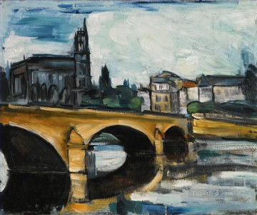 Artworks by 350 Famous Artists Painting - MANTES LA JOLIE Maurice de Vlaminck
