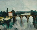 OLD BRIDGE OF LIMAY Maurice de Vlaminck