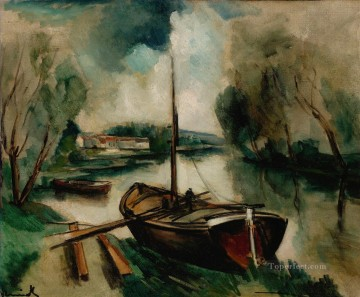 Artworks by 350 Famous Artists Painting - RIVER EDGES Maurice de Vlaminck
