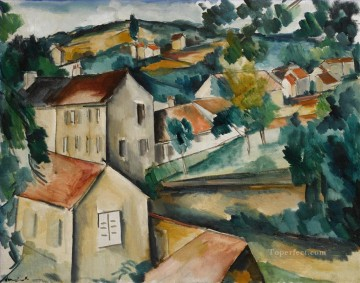Artworks by 350 Famous Artists Painting - SAINT MICHEL NEAR BOUGIVAL Maurice de Vlaminck