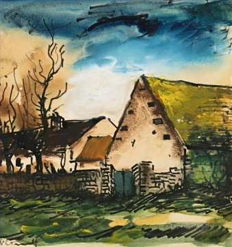 Artworks by 350 Famous Artists Painting - THE FARM Maurice de Vlaminck