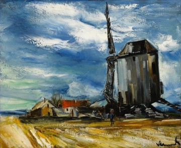 Artworks by 350 Famous Artists Painting - THE WIND MILL Maurice de Vlaminck