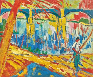 Artworks by 350 Famous Artists Painting - FISHERMAN IN CHATOU Maurice de Vlaminck