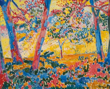 Artworks by 350 Famous Artists Painting - UNDERGROWTH Maurice de Vlaminck