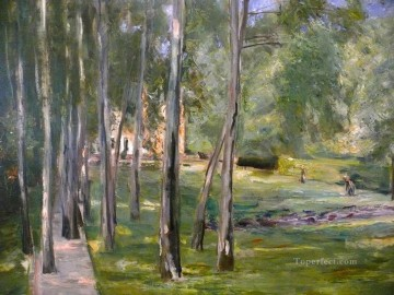 row - birch grow Max Liebermann German Impressionism