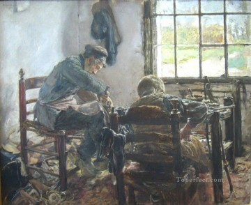 Make Art - shoemaker 1881 Max Liebermann German Impressionism