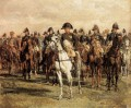 Napoleon And His Staff military Jean Louis Ernest Meissonier