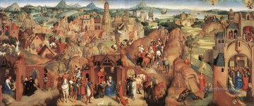 Hans Memling Painting - Advent and Triumph of Christ 1480 Netherlandish Hans Memling