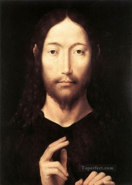 Hans Memling Painting - Christ Giving His Blessing 1478 Netherlandish Hans Memling