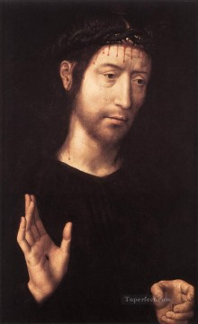 Hans Memling Painting - Man of Sorrows 1480 Netherlandish Hans Memling