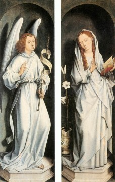 Annunciation Netherlandish Hans Memling Oil Paintings